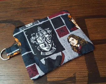 Made to Order: Geek change purse, Fandom change purse, zipper change purse, zipper change pouch