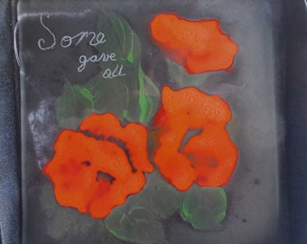 some gave all, poppie tile