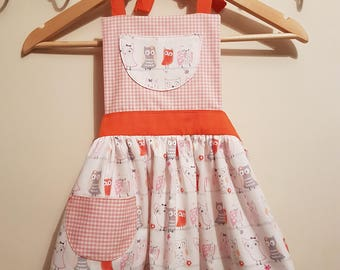 Girls Apron - Age 4-6 Years