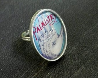Chiromancy palmistry ring