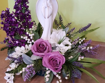 Angel silk arrangement
