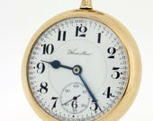 1913  Hamilton Pocket gold filled pocket watch