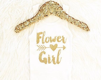 Girls clothing FLOWER GIRL tank tops. (tank only) wedding party