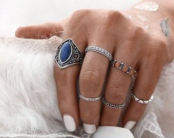 Set of rings / 6 rings /