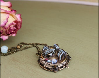 "Collier  ""Rose"""