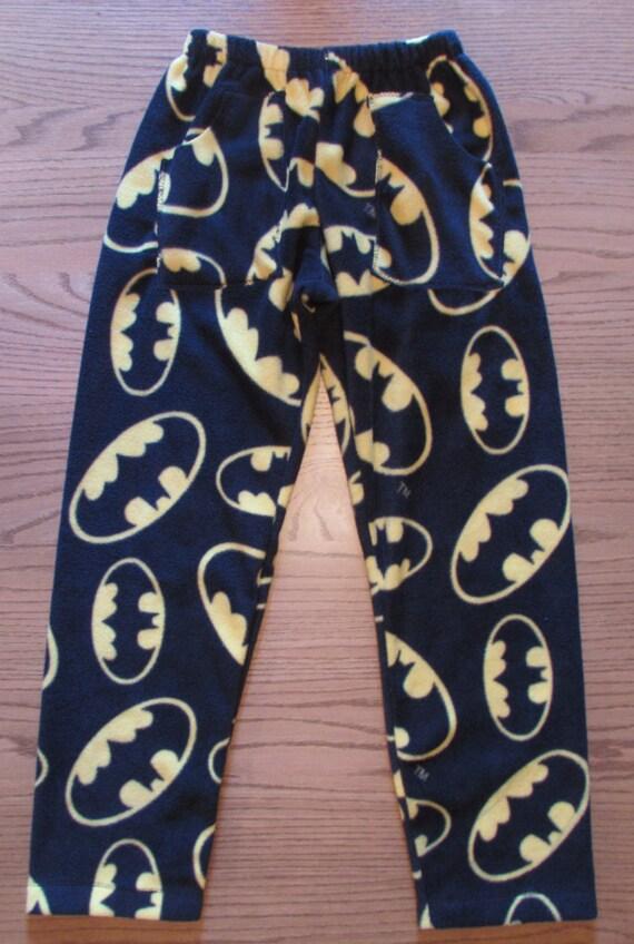 Batman forever fleece pajama pants / mens pajama pants /his and hers/ boys pajama pants / father and son / fleece pajama pants with pockets