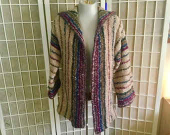 Sale: Vintage 1970s Renee Tener for Outlander Sweater Coat