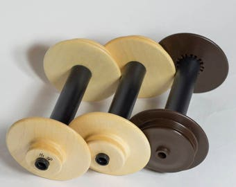 Schacht Spinning Bobbins, Matchless Bobbins, Ladybug Bobbins. Schacht Spinning Wheel Bobbin.