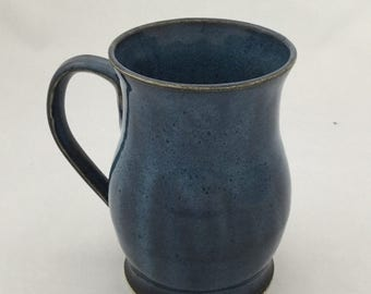 Dark Speckled Blue Mug