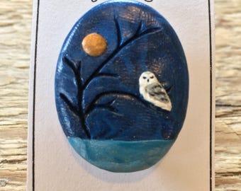 Night Owl brooch