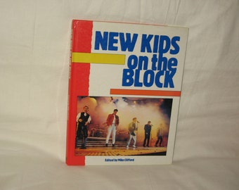 vintage copyrighted 1990 new kids on the block  once upon a time book free shipping in the usa!