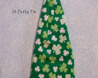 St Patty  Dog Tie add on