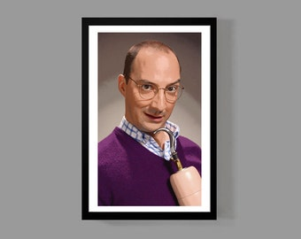 Arrested Development: Buster Bluth Custom Poster Print - Portrait, Cult Classic, Comedy, TV, Funny, Quirky