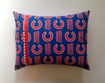 Chicago Cubs, Chicago Blackhawks, Chicago Bear, Chicago  Bulls, or Chicago White Sox Accent Pillow / Travel Pillow