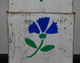 Wood Letter Bill Holder Handmade