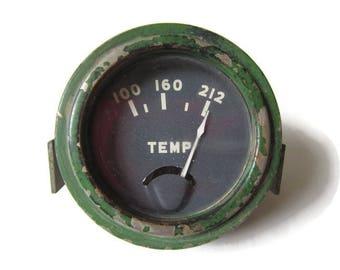 Gauge; Antique/Vintage Temperature Gauge