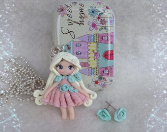 Doll spring with Tin and stud in tribute
