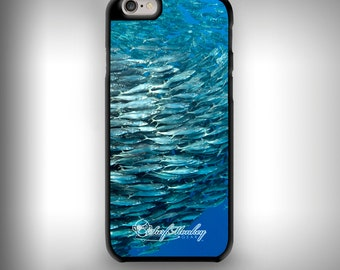 iPhone 6+ / 6s+ case with Full color custom graphics - Bait Ball
