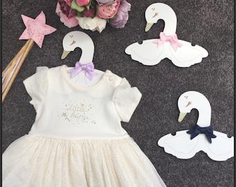 Baby Swan Hangers x 3pack