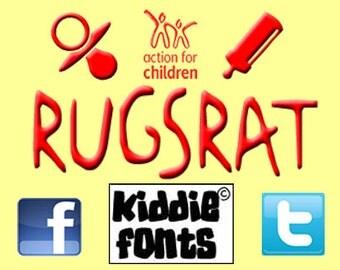 RUGSRAT Commercial Font