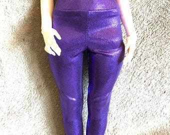 Leekeworkd art body legging purple