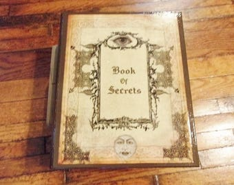 Book of Secrets Book Safe