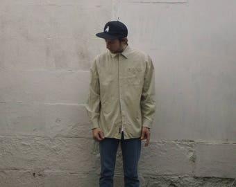 TIMBERLAND Khaki Oxford Collar Shirt
