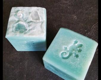CARDIFF Soap Peppermint and Litsea Cubeba Soap Body Sea Salt Bar