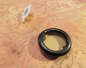 Ceramic bezel resin cup pendant base by Elaine Ray