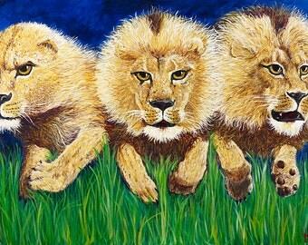 Leading Like Lions