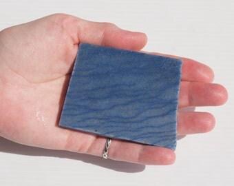 Dumortierite in Calcite Slab - Lapidary Slab - Natural Stone Slab - Lapidary Rough