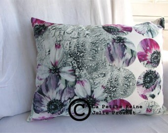 rectangular pillow Flower laces