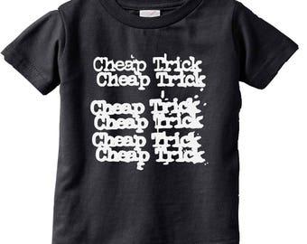 Cheap Trick Kids rock Shirt Kids shirts Funny Kids and Toddler shirts-Kids Gifts- Kids T-shirts-Cute kids gifts
