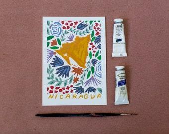Nicaragua Print