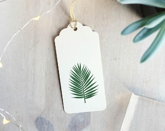 Fern Palm Leaf Stamp | Fern Stamp - Gift For Crafter - Plant Lover Gift - Fern Palm