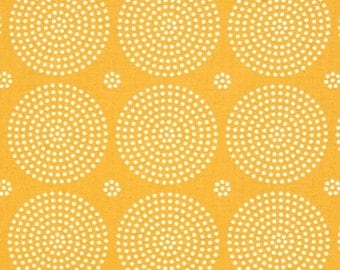 Eclipse in Goldenrod, Atrium Collection by Joel Dewberry for Free Spirit Fabrics 4236