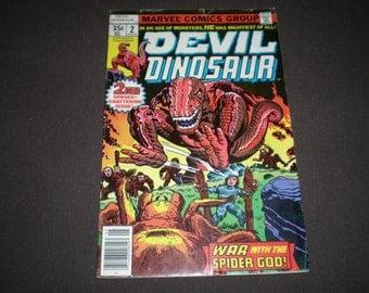 Devil Dinosaur 2, (1978), Marvel Comics, DE1