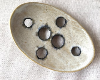 Soap Dish Studio Pottery UK Studio Ceramics Home Decor Bathroom Accessory