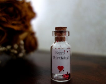 Message in the bottle - Happy Birthday!