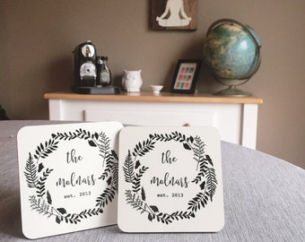 Wedding coasters   Etsy
