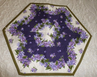 Lilac Table Topper - FREE SHIPPING