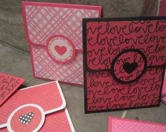 Valentine's Day Gift Card Holders (set of 2)