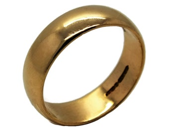Men's Heavyweight Wedding Ring, Mens Wedding Band, Mens Wedding Ring, Mens Wedding, Mens Jewellery, Groom, Wedding, Gold Wedding