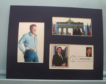 "The Berlin Wall Ronald Reagan tells Gorbachev to ""Tear Down This Wall"" & First day Cover"
