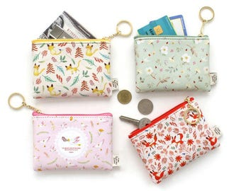 Card and Coin Wallet ,Coin Purse, Card holder - 4 Colors Selection