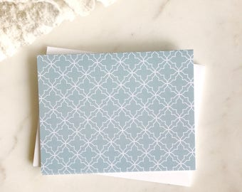 Geo Pattern Note Cards