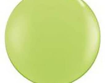"""36"""" balloon- Lime Green"""