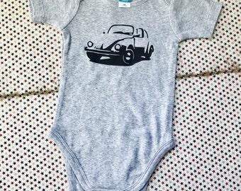 VW Bug baby bodysuit/ one piece