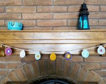 Easter Garland / Bunting- Eggs - Easter Decoration