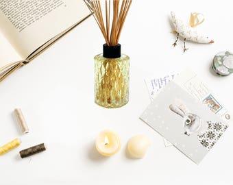 """Aromatherapy reed diffuser """"Elixir of Love""""-Aromatherapy-Aphrodisiac"""